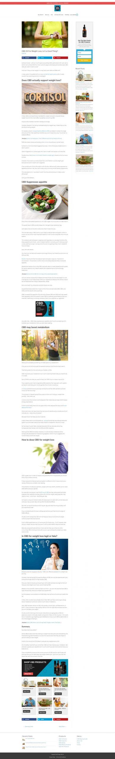 cbd blog one