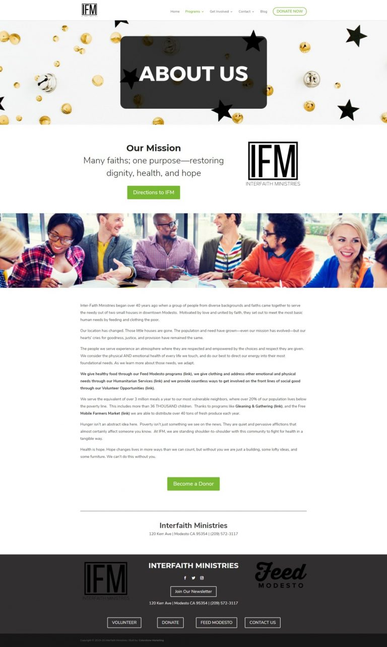 ifm about page