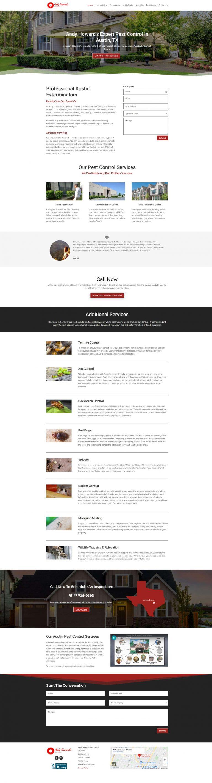 andyhowardsaustin.com home page